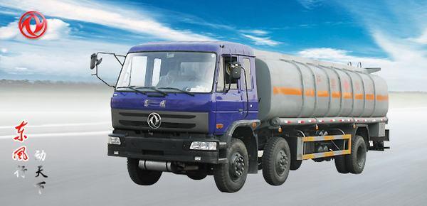 东风东风小三轴化工液体运输车高清图 - 外观