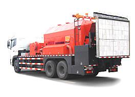 英达科技PM500-48-TRK沥青路面热再生修补车(修路王)
