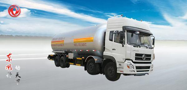 东风东风天龙前四后八液化气体运输车高清图 - 外观