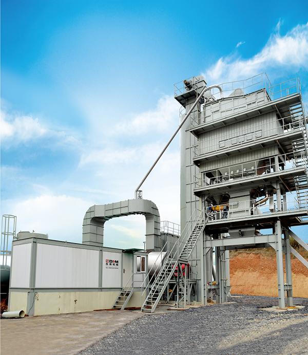 东南机械LBW系列沥青混合料搅拌设备高清图 - 外观