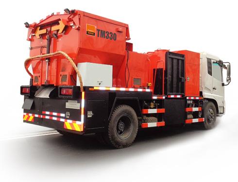 英达科技TM330沥青路面综合养护车