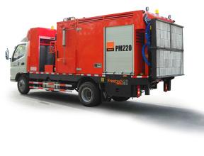 英达科技PM220沥青路面热再生修补车(修路王)高清图 - 外观
