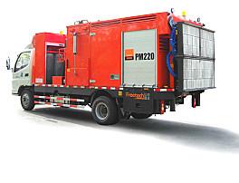 英达科技PM220沥青路面热再生修补车(修路王)