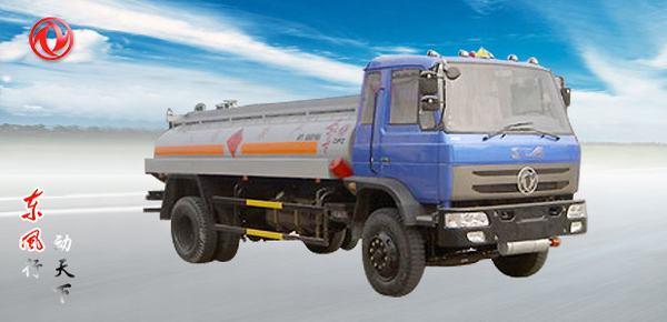东风东风平头化工液体运输车高清图 - 外观