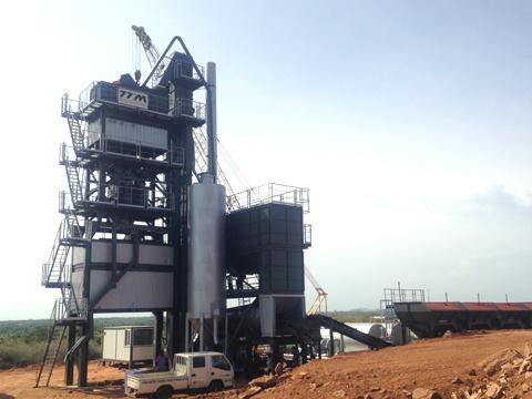 铁拓机械GLB1000沥青搅拌设备
