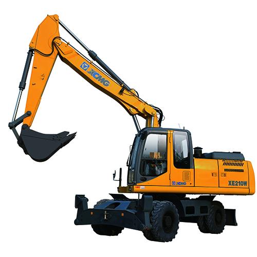 徐工XE210W轮式挖掘机高清图 - 外观