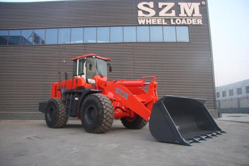 山装SZM959装载机高清图 - 外观