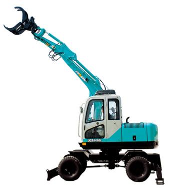 晋工JGM9085L轮胎式多功能蔗木拾装机