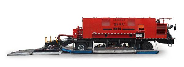 英达科技HM16沥青路面加热车高清图 - 外观