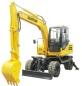 欣安远A4L280W轮式挖掘机高清图 - 外观