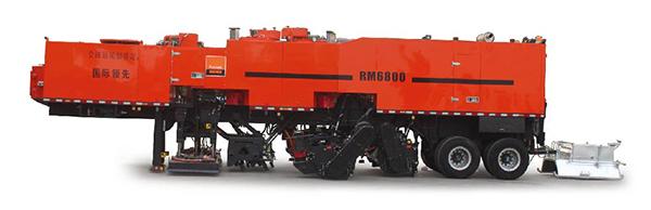 英达科技RM6800沥青路面就地热再生车高清图 - 外观