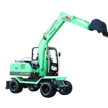 欣安远轮式挖掘机