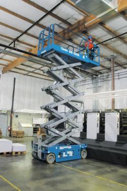 美国吉尼GS™-3246自行式剪型高空作业平台