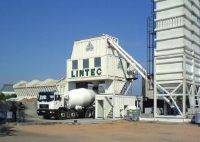 林泰阁CC2000集装箱式水泥混凝土搅拌站