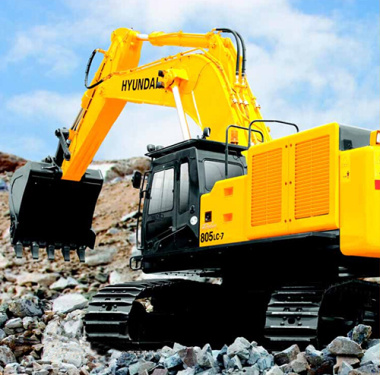 现代R805LC-7挖掘机