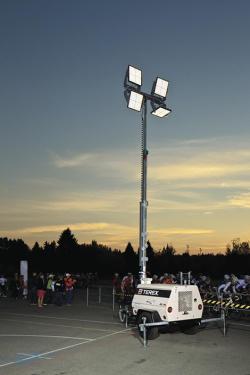 特雷克斯吉尼AL4L(电池动力选装)拖车式灯塔