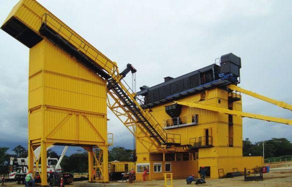林泰阁CSD3000集装箱式沥青混凝土搅拌站