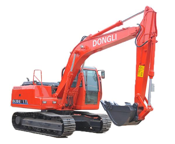 东力DL150-8挖掘机高清图 - 外观