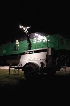 特雷克斯吉尼AL5 HT拖车式灯塔