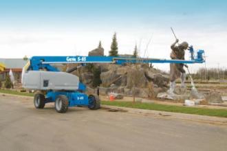 美国吉尼S™-60/S™-60 Trax自行式直臂型高空作业平台高清图 - 外观