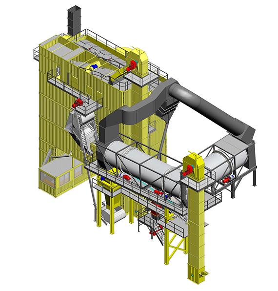 林泰阁HRC双滚筒热再生系统高清图 - 外观