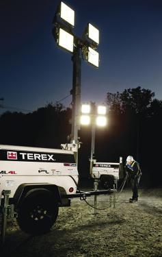 特雷克斯吉尼AL4L(发电机选装)拖车式灯塔