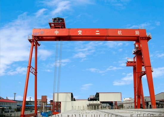 华中建机MGx系列箱型梁龙门吊高清图 - 外观