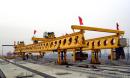 华中建机HZQ系列步履式架桥机高清图 - 外观