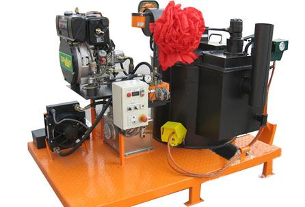 隆瑞机械REE500-800Z系列车载式灌缝机
