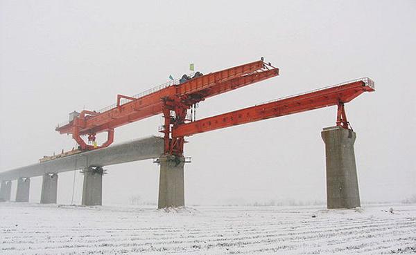 华中建机HZQ系列高速铁路架桥机