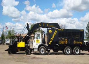 凯联-美国VSS  稀浆封层车上料机高清图 - 外观