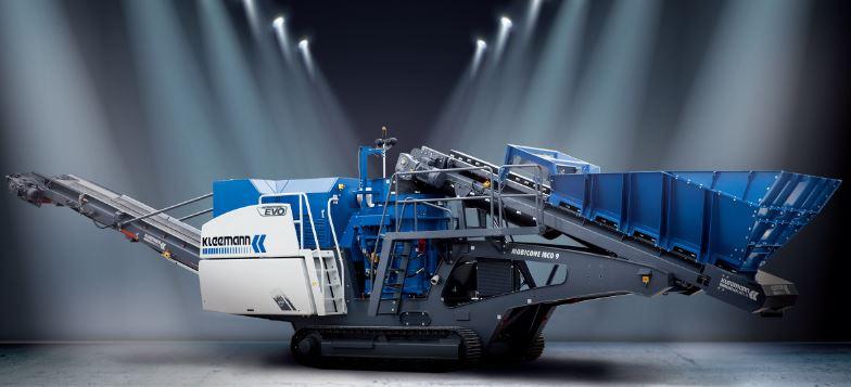 克磊镘(KLEEMANN)MCO 9 S EVO 移动圆锥式破碎设备高清图 - 外观