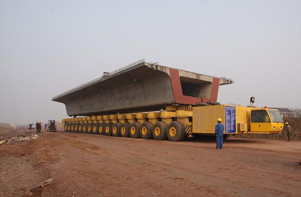 华中建机HZY900运梁车