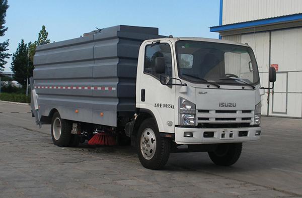 中通汽车ZTQ5030TSLSCF27D清扫车高清图 - 外观