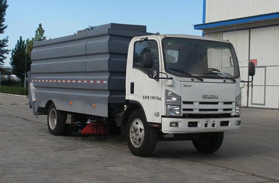 中通汽車ZTQ5030TSLSCF27D清掃車