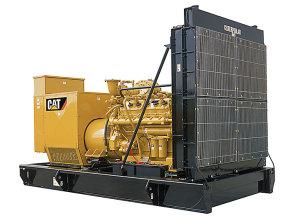 卡特彼勒G3412燃气发电机组高清图 - 外观