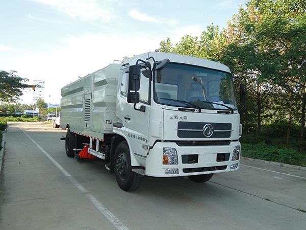 中通汽车ZTQ5160TXSE1J50D(东风天锦)洗扫车高清图 - 外观