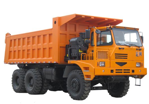 蓬翔PX60MT宽体自卸车高清图 - 外观