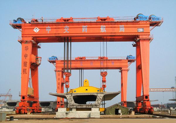 华中建机MGhz系列超大型龙门吊高清图 - 外观