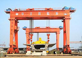 华中建机MGhz系列超大型龙门吊