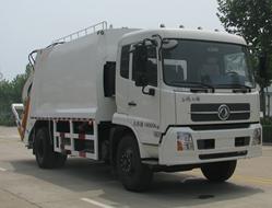 中通汽车ZTQ5161ZYSE1J38D(东风天锦)压缩式垃圾车高清图 - 外观