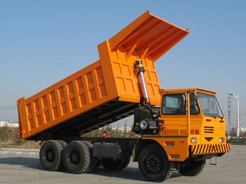 蓬翔PX40宽体自卸车高清图 - 外观