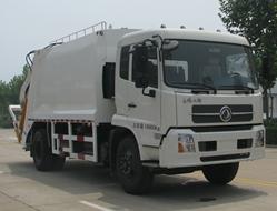 中通汽车ZTQ5161ZYSE1J45D(东风天锦)压缩式垃圾车高清图 - 外观