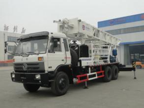 滨州钻机BZCDF200DF车载式反循环动力头钻机高清图 - 外观