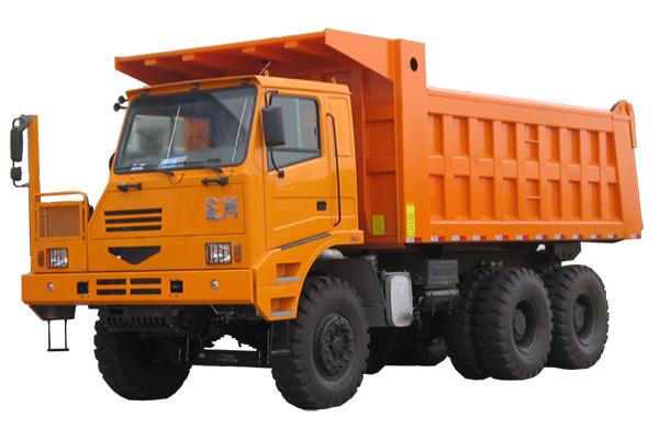 蓬翔PX60AT宽体自卸车高清图 - 外观