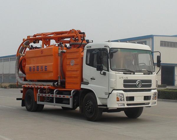 中通汽车ZTQ5162GXWE1J47D(东风天锦)吸污车高清图 - 外观