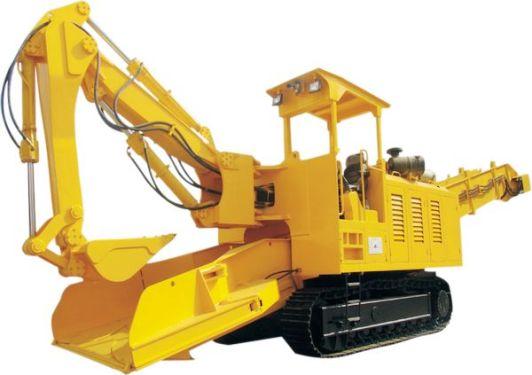 华中建机WZ500扒渣机
