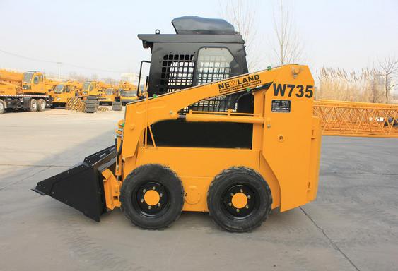 NEWLANDW735滑移装载机高清图 - 外观