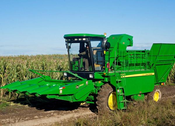 约翰迪尔农机Y210玉米果穗收割机高清图 - 外观