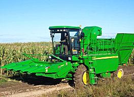 约翰迪尔农机Y210玉米果穗收割机
